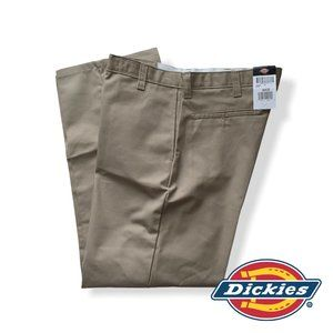 Dickies  Relaxed Fit Men's Flat Front Straight Leg